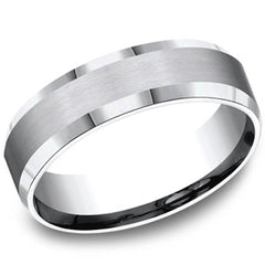 men carbon rings bands jewelers benchmark products s michaels comfort band fit fiber colbalt wedding chrome