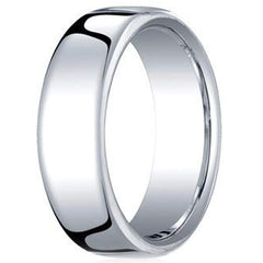 Benchmark Traditional European Comfort Fit Mens Wedding Band
