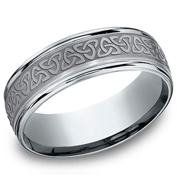 Benchmark Quot Tantalum Quot Men S Wedding Band