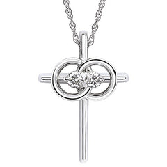 Christian Marriage Symbol® Cross Pendant