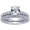 "Gabriel Amavida ""Ronan"" Classic Shared Prong Diamond Wedding Set"