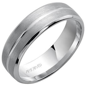 "Artcarved ""Dynasty"" Men's Wedding Band"