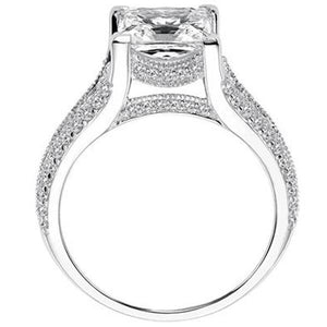 "Artcarved ""Harper"" Princess Cut Diamond Engagement Ring"