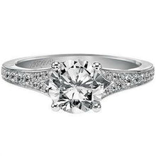 "Load image into Gallery viewer, Artcarved ""Jordana"" Split Shank Diamond Engagement Ring"