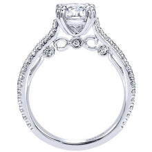 "Load image into Gallery viewer, Gabriel Amavida ""Alexandra"" Classic Shared Prong Diamond Engagement Ring"