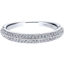 "Load image into Gallery viewer, Gabriel Amavida ""Georgia"" Diamond Wedding Band"