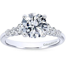 "Load image into Gallery viewer, Gabriel ""Darby"" Graduating Diamond Engagement Ring"