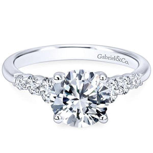 "Gabriel ""Darby"" Graduating Diamond Engagement Ring"