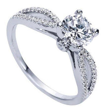 "Load image into Gallery viewer, Gabriel ""Elyse"" Split Shank Diamond Engagement Ring"