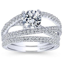 "Load image into Gallery viewer, Gabriel ""Mackenzie"" Diamond Wedding Ring"