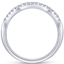 "Load image into Gallery viewer, Gabriel ""Shae"" Curved Diamond Wedding Band"