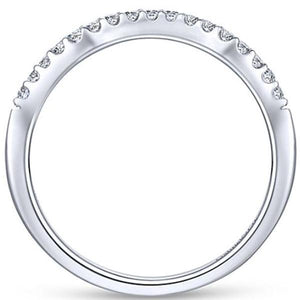 "Gabriel ""Shae"" Curved Diamond Wedding Band"