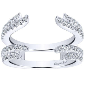 "Gabriel Two Row Diamond ""Flair"" Enhancer Band"