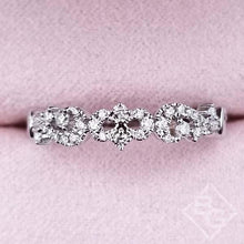 Load image into Gallery viewer, Kirk Kara Angelique Diamond Scrollwork Wedding Ring