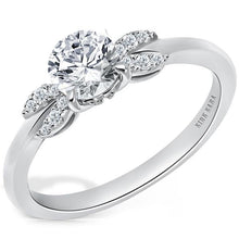 "Load image into Gallery viewer, Kirk Kara ""Angelique"" Petite Diamond Engagement Ring"