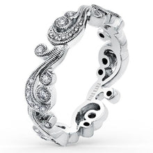 Load image into Gallery viewer, Kirk Kara Angelique Scroll Work Diamond Wedding Band
