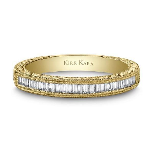 Kirk Kara Stella Diamond Baguette Wedding Band