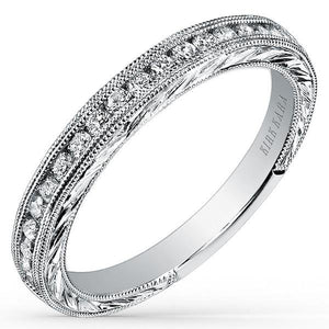 "Kirk Kara ""Stella"" Diamond Wedding Band"