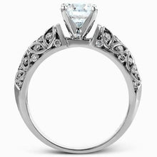 Load image into Gallery viewer, Simon G. Filigree Vintage Style Diamond Engagement Ring