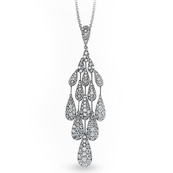 Simon G. Pave Diamond Teardrop