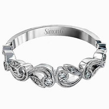 Load image into Gallery viewer, Simon G. Vintage Style Scrollwork Filigree Wedding Ring