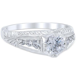 "Whitehouse Brothers ""Rosario"" Diamond Engagement Ring"