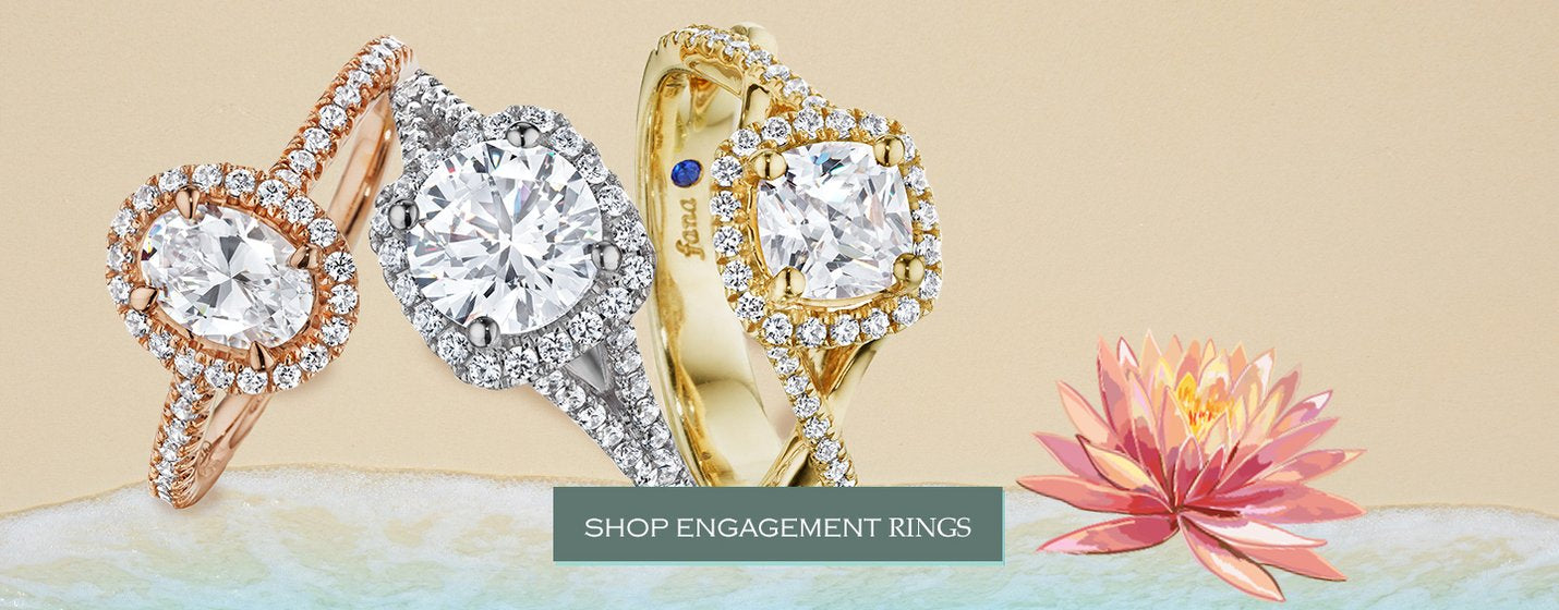 Shop Diamond Engagement Rings at Ben Garelick