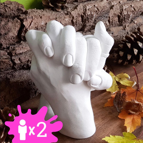 3D Handprint Mold for Couple