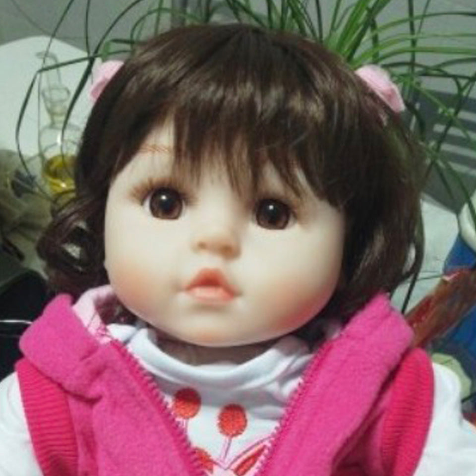 18'' Little Angela Baby Doll Girl
