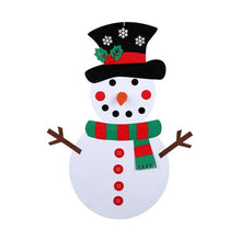 Load image into Gallery viewer, Felt Snowman Set