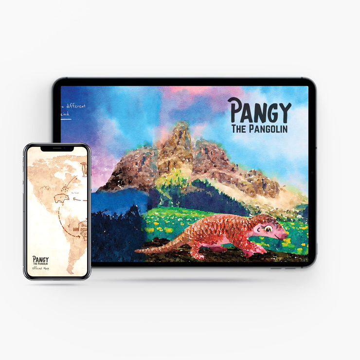 Pangy the Pangolin - Digital Edition