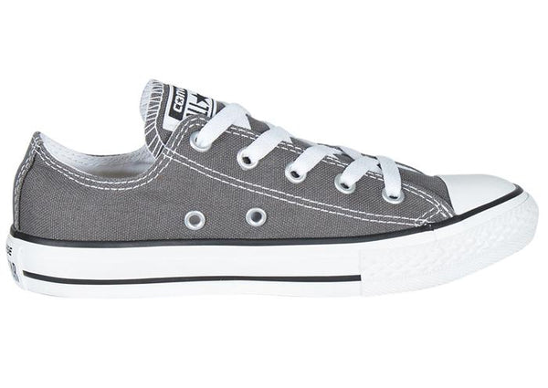 Converse Kids Chuck Taylor All Star Lo Charcoal Angle 3