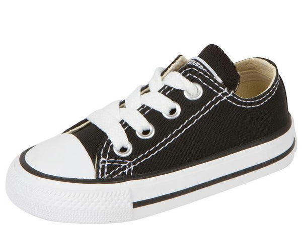 Converse Infants Chuck Taylor All Star Lo Black Angle 1