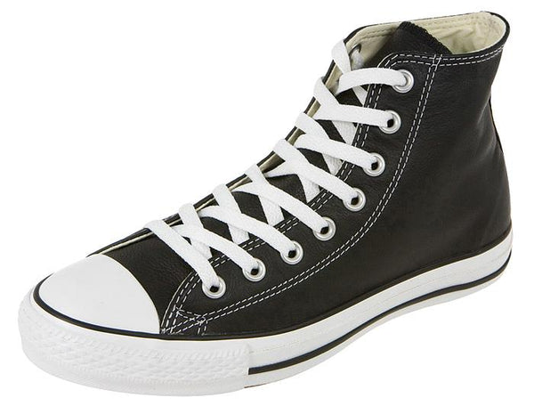 Converse Chuck Taylor All Star Hi Leather Black Angle 1