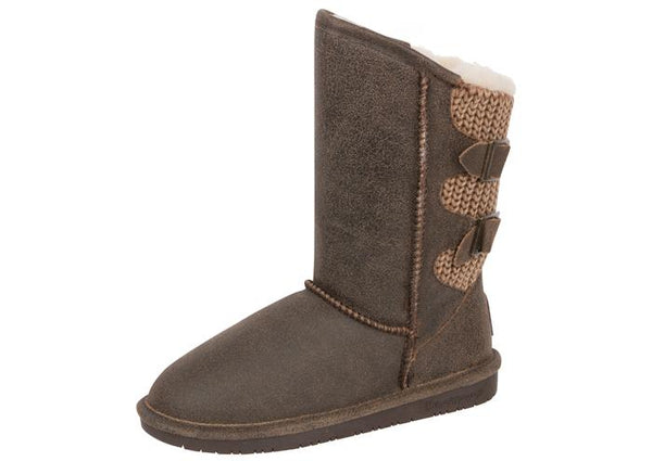 Bear Paw Womens Boshie Distressed Chestnut Angle 1