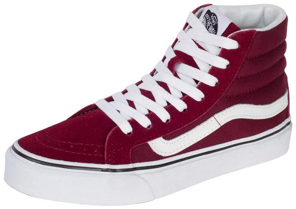 Vans SK8 Hi Slim Windsor Wine Angle 1