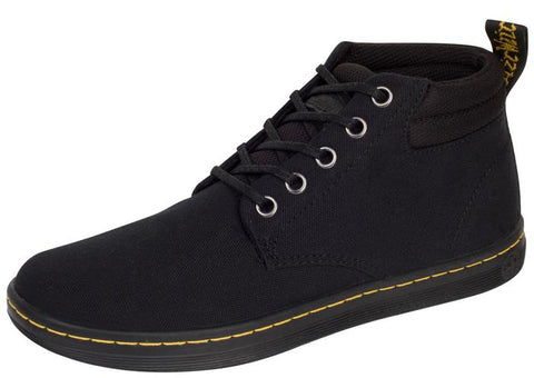 Dr Martens Belmont 5 Eye Lux Canvas Black Angle 1