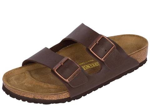 Birkenstock Arizona Birkoflor Brown Angle 1
