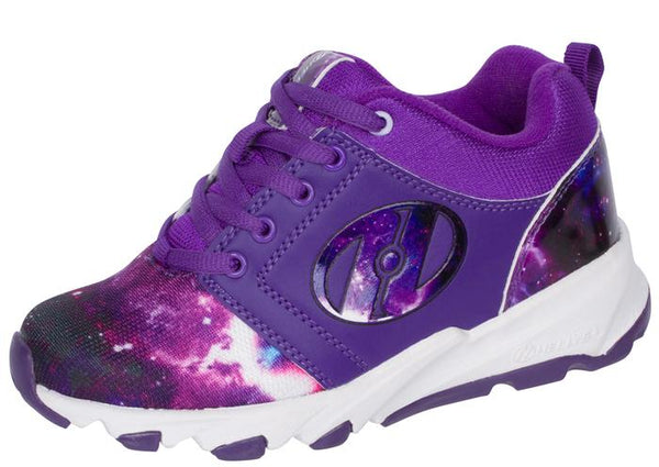 Heelys Kids Hightail Galaxy Purple Angle 1