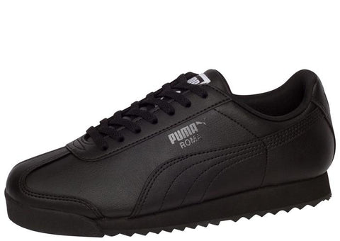 Puma Kids Roma Basic Black Angle 1