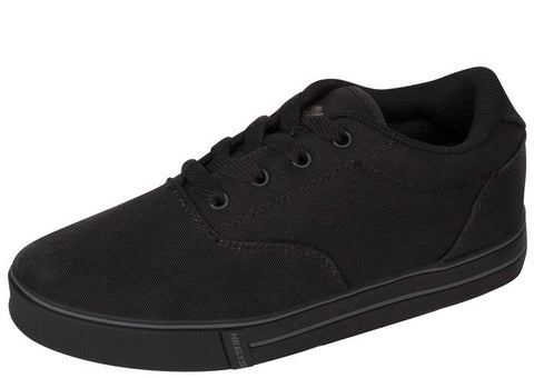 Heelys Kids Launch Canvas Black Angle 1