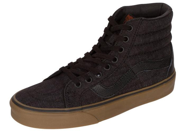 Vans Sk8 Hi Reissue Denim C&L Black Gum Angle 1