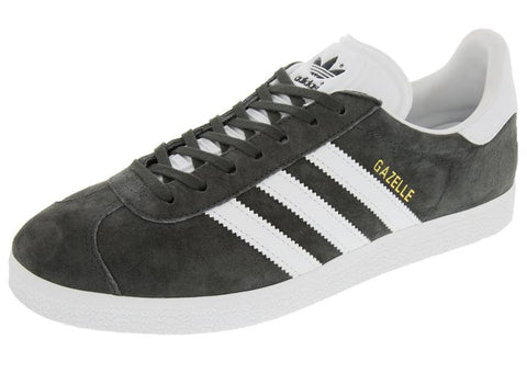 adidas Gazelle DG Solid Grey White Metallic Gold Angle 1