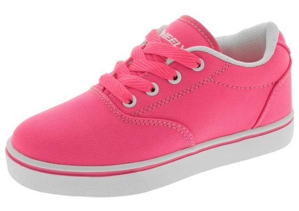 Heelys Kids Launch Neon Pink Angle 1