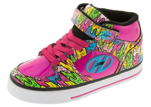 Heelys Kids Cruz X2 Hot Pink Multi Melt Angle 1