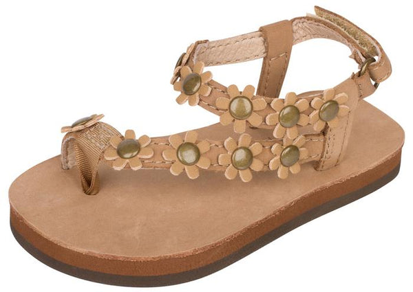 Rainbow Sandals Childrens Delilah Sierra Brown Angle 1