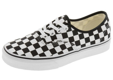 Vans Authentic Checkerboard Black True White Angle 1