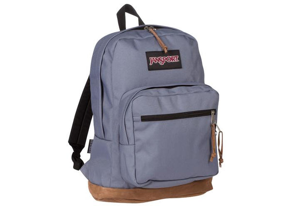 JanSport Right Pack Pewter Blue Angle 1