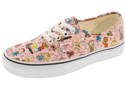 Vans Authentic Peanuts Dance Party Pink Angle 1