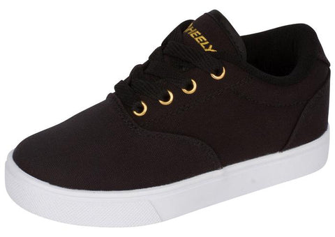 Heelys Kids Launch Black Gold Angle 1